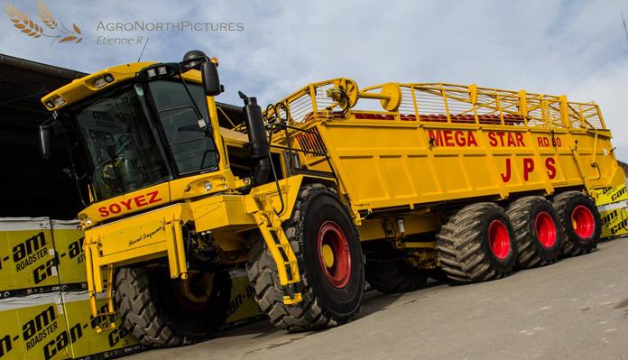 D 233 Bardeuse 224 Betteraves De 80 M3 Rgy Concept